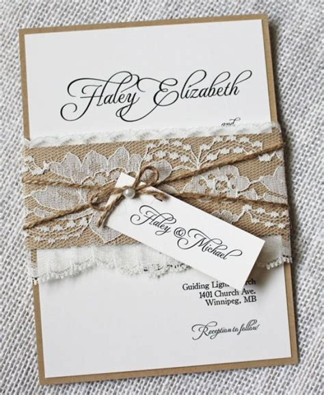rustic shabby chic wedding invitations rustic wedding invitations lace wedding invitation shabby chic wedding wedding invitation