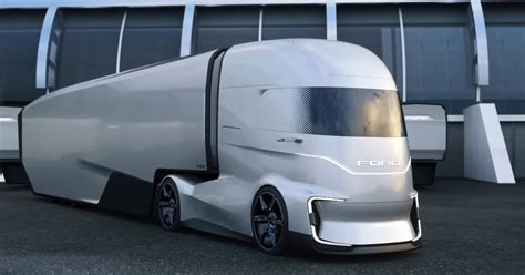 Www Ford Trucks by Ford Trucks Unveils Self Driving Electric Truck Scoops