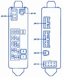 Mazda Atenza 2006 Fuse Box  Block Circuit Breaker Diagram