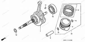 Honda Atv 2006 Oem Parts Diagram For Crankshaft