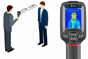 Guide T120h Handheld Temperature Screening Thermal Scanner