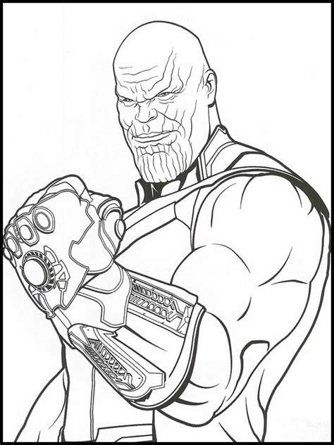 avengers endgame coloring book 34