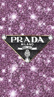 Prada Purple Embellished Logo | Hypebeast wallpaper, Bling ...