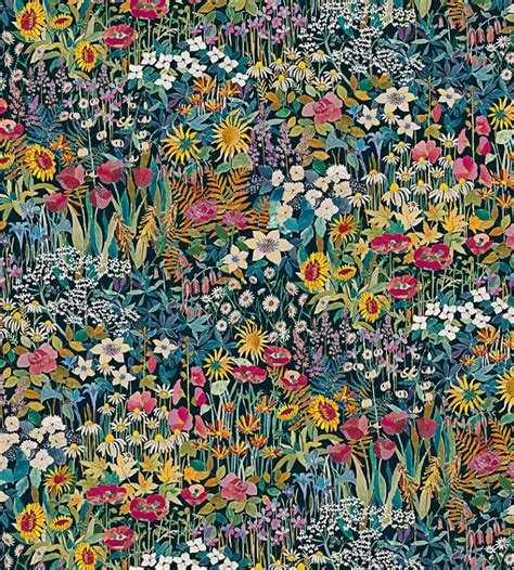 faria flowers marigold fabric the secret garden