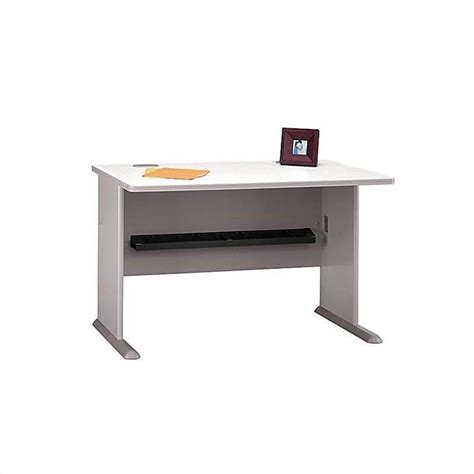 bush business a series u shape desk in white spectrum and pewter bsa018 145