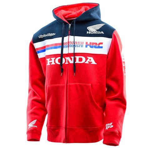 troy lee designs honda team zip  hoodie bto sports
