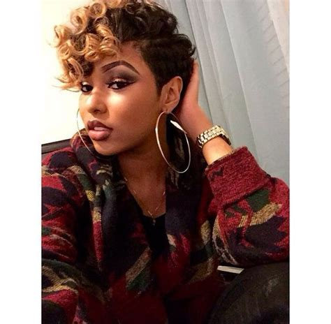 wavypixieafricanamericanwomen short hairstyles