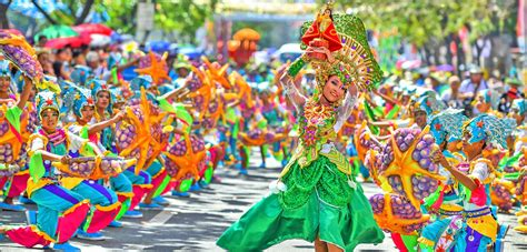 The Colorful & Grand Sinulog Festival of Cebu, Philippines