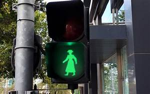 Clash Of Lights Female Traffic Lights For Crossing To Fight 39 Unconscious Bias 39