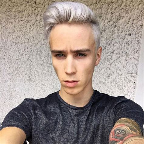 Bleached Hair For Men 2019 Mens Hairstyles Haircuts 2019