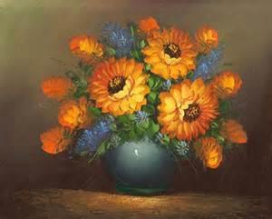 Flower Vase Famous Artist Paintings