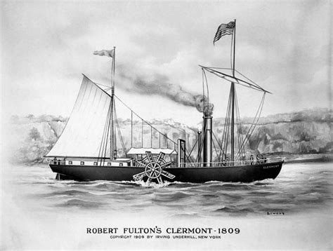 Steamboat Fulton by The 25 Best Robert Fulton Ideas On Steamboats