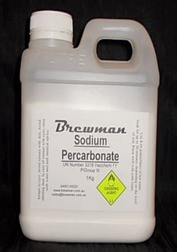 Sod Percarbonate by Brewman