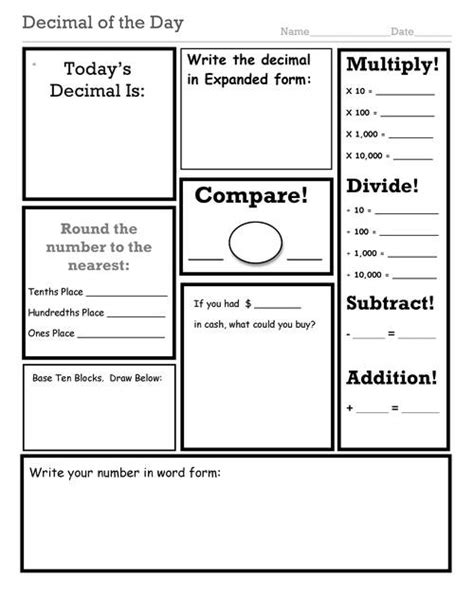 All Worksheets » Number And Operations In Base Ten Worksheets  Printable Worksheets Guide For