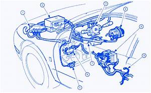 Saturn Sl1 2001 Engine Electrical Circuit Wiring Diagram