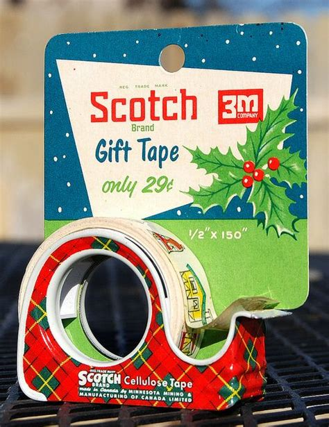 vintage scotch 3m christmas gift tape jana roy gave me