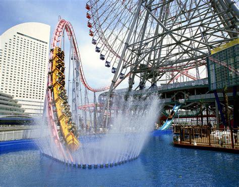 Vanish Roller Coaster In Yokohama, Japan Goes Underwater