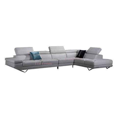 grand canapé d angle canapé d 39 angle en cuir véritable siena pop design fr