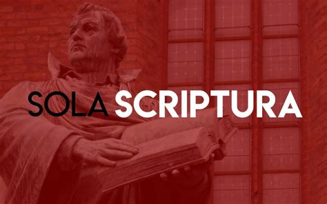 Sola Scriptura | Stone Oak Bible Church