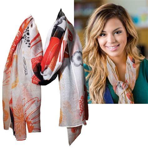 imprinted full color large scarf custom logo