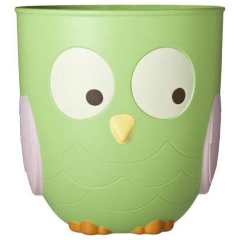 Circo Owl Bathroom Accessories by Circo N Nature Owl Wastebasket Circo 174 N