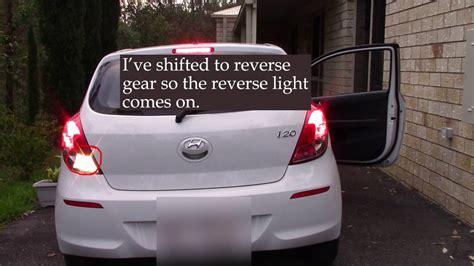 hyundai   reverse light  working   turn