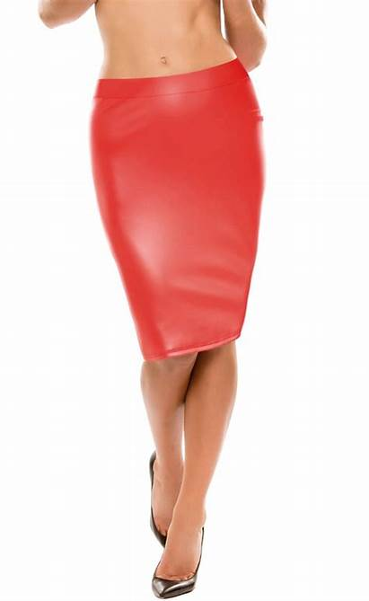 Tight Pencil Skirt Skin Vinyl Second