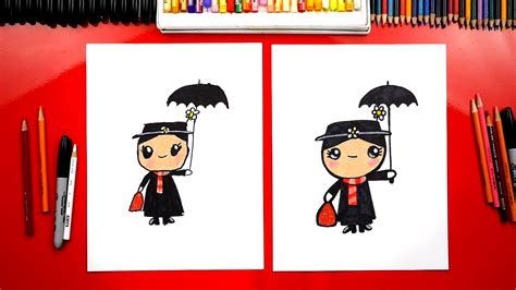 draw disneys mary poppins art  kids hub