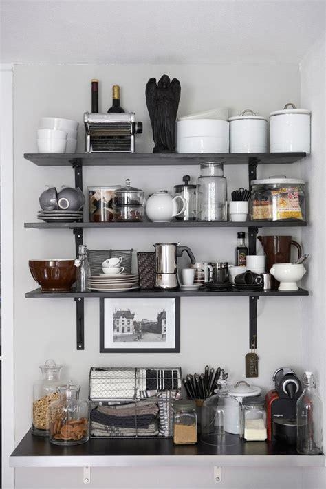 organizing the kitchen open shelving 1276