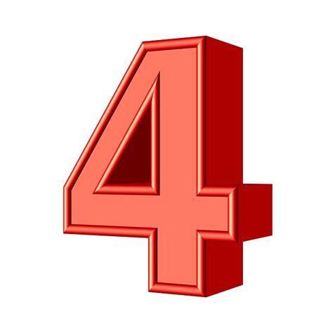Four 4 Number · Free Image On Pixabay