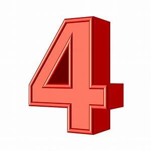 Four 4 Number Free Image On Pixabay
