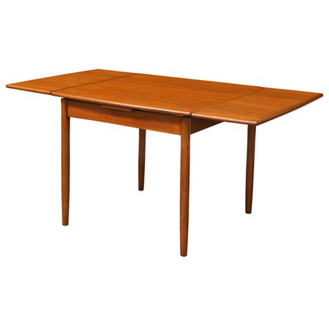 square dining table with leaves modern teak square draw leaf dining table at 1stdibs 8208