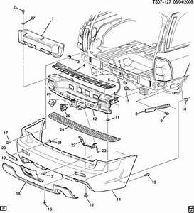 Chevrolet Ssr Bar  Front And Rear Bumper  Fascia Face  Bar
