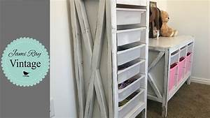 Ikea Trofast Hack : ikea farmhouse storage hack trofast youtube ~ Watch28wear.com Haus und Dekorationen