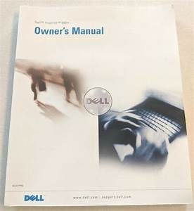 Dell Inspiron 600m Laptop Computer Owner U0026 39 S Manual  User