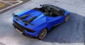 Lamborghini Huracan Performante Spyder  At The Speed Of