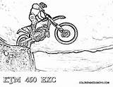 Dirt Coloring Bike Pages Ktm Sheets Dirtbike Bikes Rider Yescoloring Motorcycle Exc Boys Adult Fierce Real Fmx Tricks Helmet Dirtbikes sketch template