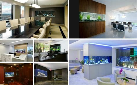 la decoration avec  meuble aquarium archzinefr