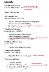 Where To Add Volunteer Work On Resume by To Great Resume Quot Mistakes Quot To Avoid Carney Sandoe