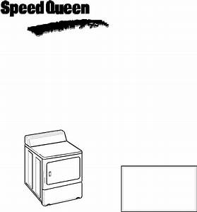 Download Speed Queen Clothes Dryer 40125301 Manual And