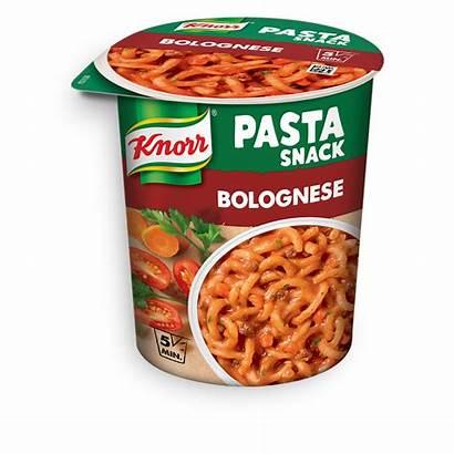 Knorr Snack Pasta Bolognese Fertiggerichte Snacks Becher