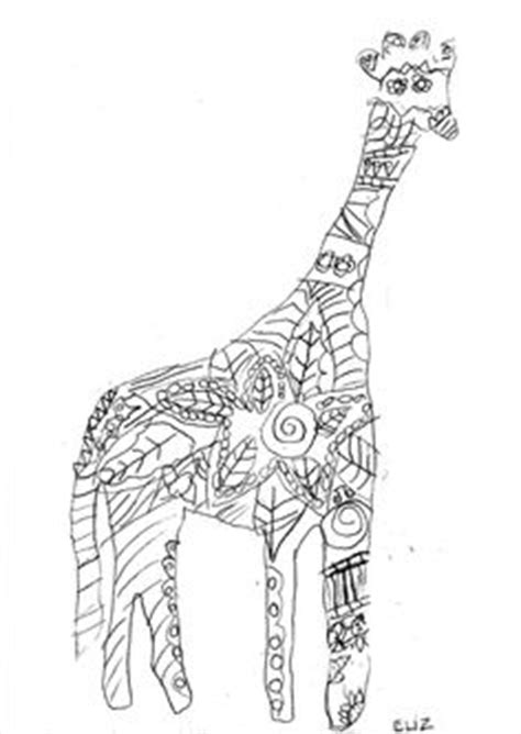 Giraffe Drawing | Kids Projects | Pinterest | Giraffe drawing