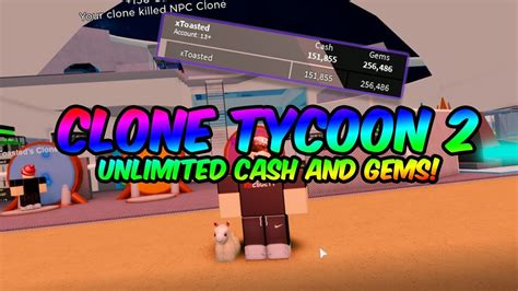 clone tycoon  hack unlimited cash unlimited gems
