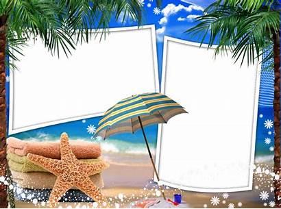 Frames Frame Sea Photoshop Sand Sun Clipart