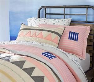 Margherita Missoni Linen Patchwork Quilted Bedding ...