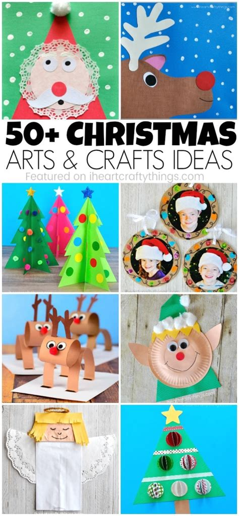christmas arts and crafts ideas 50 arts and crafts ideas