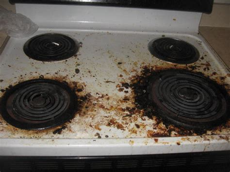 Maryland Cleaning Services How To Clean A Dirty Stove