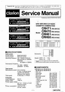 Clarion Crh60