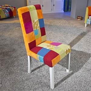 Chaise salle a manger tissu nouveaux modeles de maison for Meuble salle À manger avec chaise modele