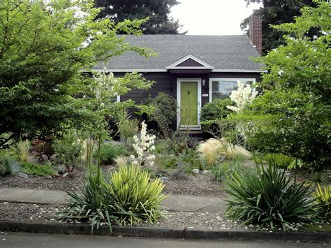 The Front Yard : Front Yard Without Grass-elegance Dream Home Design
